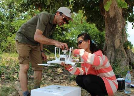 Conservation drone reveals uncharted seagrass habitat in Cambodia | Drone (UAV) News | Scoop.it