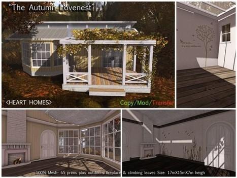 The Autumn Lovenest! » Aphrodite Shop   SL Homes & Gardens Scoop   Scoop.it