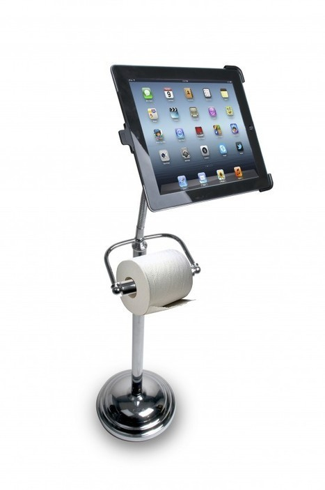 Using Your iPad While On The Can Just Got A Whole Lot Classier | PadGadget | Nos vies aujourd'hui - Our lives today | Scoop.it
