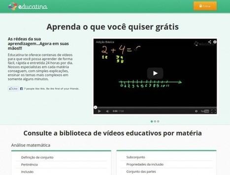 Educatina chegou ao Brasil com vídeos educativos em português | As Bibliotecas e a Web2.0 | Scoop.it