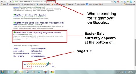Easier Sale - Getting Higher Google Search Ranking!!! | Estate Agent News | Scoop.it