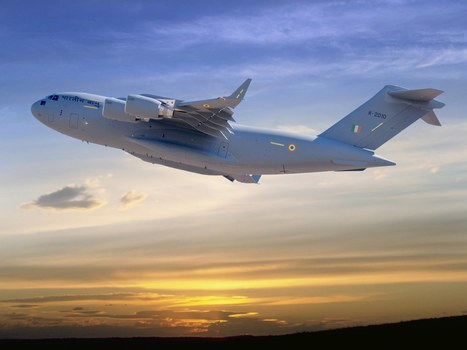 Boeing Transfers 1st C-17 to Indian Air Force | Engineering | Scoop.it