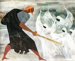 Homer for Young Readers: The Provensens' Vibrant Vintage Illustrations for the Iliad & Odyssey #yoconozcomiherencia | EURICLEA | Scoop.it