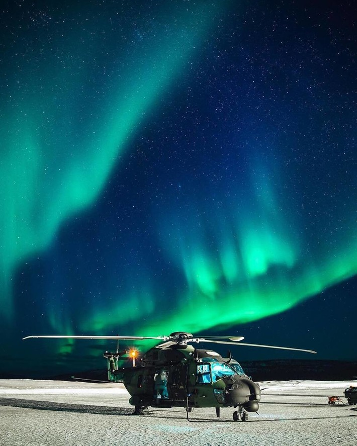 COLD BLADE 2016 - European Defence Agency - NH90 - Ivalo, Finland | NHIndustries - NH90 | Scoop.it