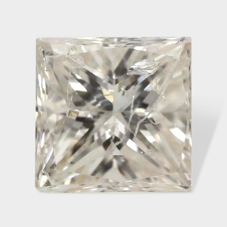 0.22 ctw 3 25 x 3 20 mm White Color I1 Clarity Princess Cut Loose Diamond | Loose Diamonds | Scoop.it