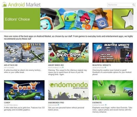 [Google I/O 2011] Plein de nouveautés sur l'Android Market web ! - Point GPhone | Android et ses nouveautés | Scoop.it