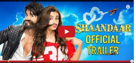 Shaandaar review: Shahid Kapoor, Alia Bhatt shine; film misses 'Shaan' | Entertainment News | Scoop.it