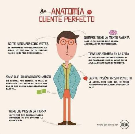 Anatomía del cliente perfecto via @creatiburon | Social Media, Marketing Online, TICs | Scoop.it