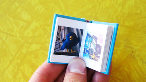 "Instagram Tinybooks makes us go ""aww"" - CBS News 