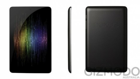 Des photos de la tablette Google Nexus 7 fuitent | Geekastuces | Scoop.it