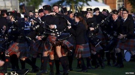 Scotland celebrates 'outstanding' World Pipe Band Championships - BBC News | Culture Scotland | Scoop.it