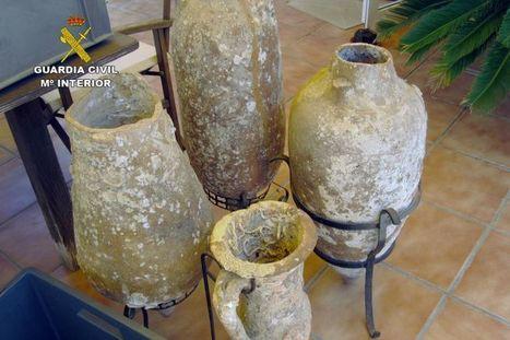 La Guardia Civil recupera 4 ánforas romanas en Cabo de Palos | Centro de Estudios Artísticos Elba | Scoop.it