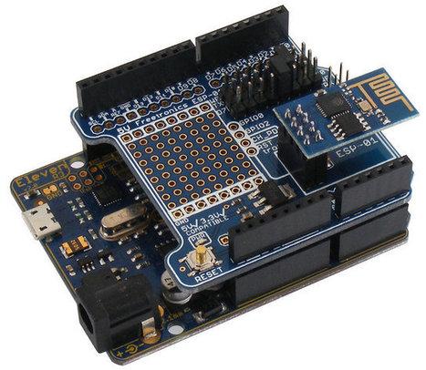 Freetronics Introduces an Arduino Shield for ESP8266 ESP-01 Wi-Fi Module   Raspberry Pi   Scoop.it