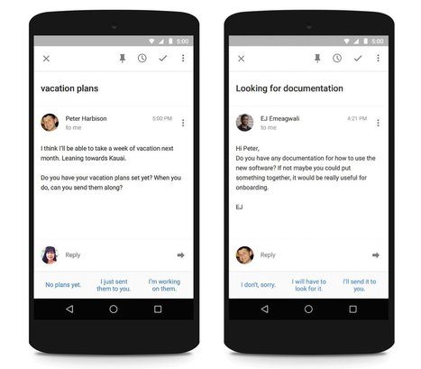 Google is quietly building a much smarter email app   Technology: Tools, Talks, Tips   Scoop.it
