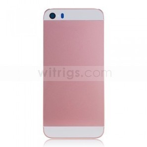 Custom Back Cover Replacement Parts for Apple iPhone 5S White/Pink - Witrigs.com   OEM iPad Air Repair Parts   Scoop.it