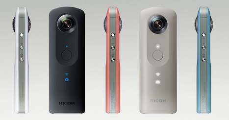 Ricoh Unveils the Theta SC: Shoot High Quality 360° Photos and Video for Less | Virtual Reality VR | Scoop.it