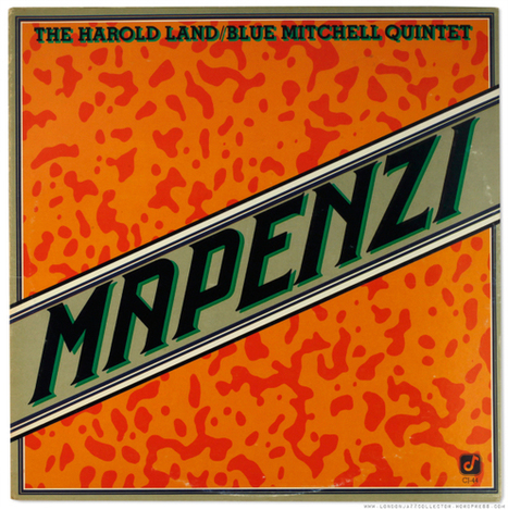 Harold Land: Mapenzi (1977) Concord Jazz | Jazz Plus | Scoop.it