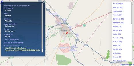 Mapa de las convocatorias de las Manifestación del 25-S por el derecho a una vivienda digna. | Los mapas del #15M | Scoop.it