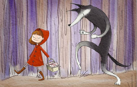 Short Stories: Little Red Riding Hood by Brothers Grimm   Andrew Lemieux Archetypes Project   Scoop.it