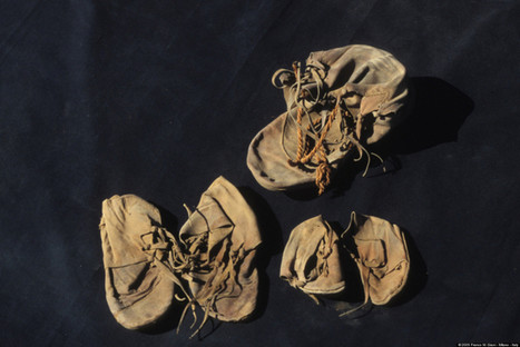 Ancient Shoes Shed Fresh Light On Wearers' Ailments   Classics in the news   Scoop.it