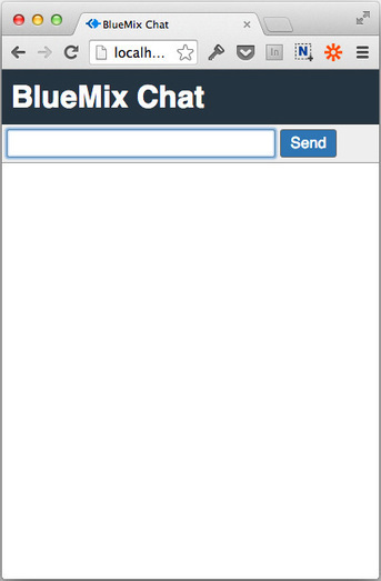 Create an HTML5 chat app on Bluemix with Node.js, Redis, and Socket.io | benhmidan | Scoop.it