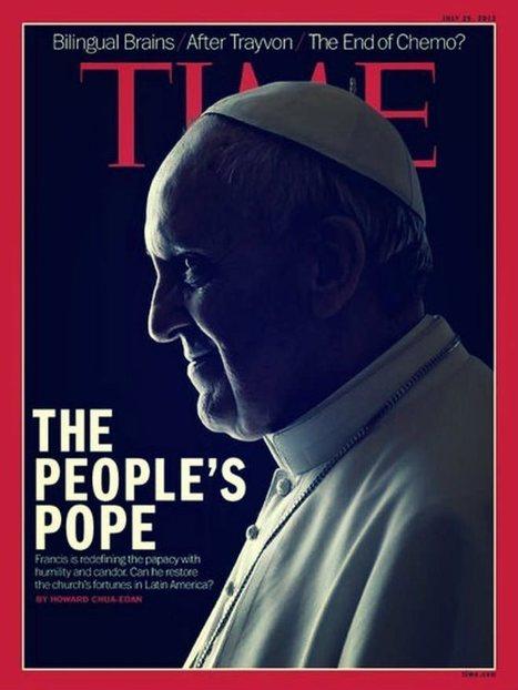 La copertina del Time: Papa Francesco... con le corna! | Alchimia, esoterismo e misteri | Scoop.it