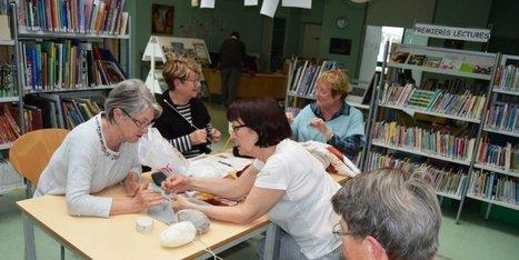 Café tricot à la bibliothèque | Action culturelle | Scoop.it