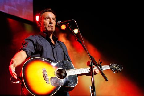 A 54-Minute Conversation With Bruce Springsteen - Rolling Stone | Bruce Springsteen | Scoop.it