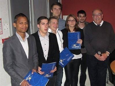 Europass accompagne les apprentis du lycée Branly , La Roche-sur-Yon 22/05/2013 - ouest-france.fr | La revue de presse du Lycée Branly de La Roche sur Yon | Scoop.it