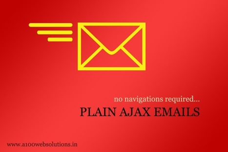 Emails in PHP without page navigation using AJAX - | JQuery | PHP | HTML5 | CSS3 | AJAX | SEO | Scoop.it