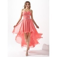 [US$ 151.99] A-Line/Princess Sweetheart Asymmetrical Chiffon Homecoming Dress With Ruffle Beading (022009591) | fashion | Scoop.it
