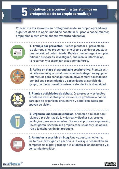 Cómo convertir a los alumnos en protagonistas de su aprendizaje | EDUDIARI 2.0 DE jluisbloc | Scoop.it