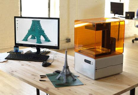 Form 1 3D Printer Starts Shipping To Kickstarter Backers (video) | Geeky Gadgets | Gadgets | Scoop.it