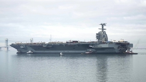 [Yet another example of problems with projects:] Navy's $12.9 Billion Carrier Falls Further Behind Schedule | Critical Chain Project Management | Scoop.it