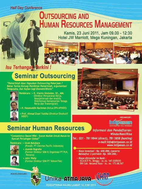 Seminar   Outsourcing & HR   Transforming HR   Scoop.it