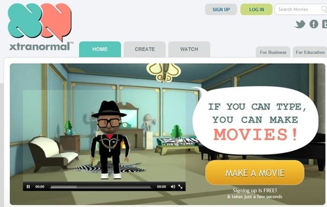 Movie Maker | Xtranormal | UDL & ICT in education | Scoop.it