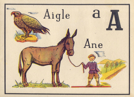 Vintage Images French Children's Alphabet Learning Book - Free Downloads - Public Domain Images | Education and technology on the web | Scoop.it