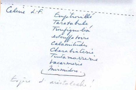 Hergé, amateur des jurons de Céline | BiblioLivre | Scoop.it