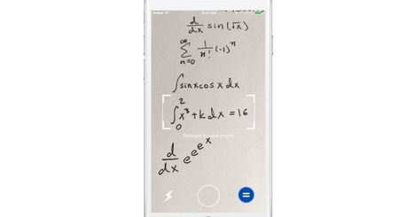 Point your phone at an equation and Mathpix will solve it | Hawaii Science and Technology Digest | Scoop.it