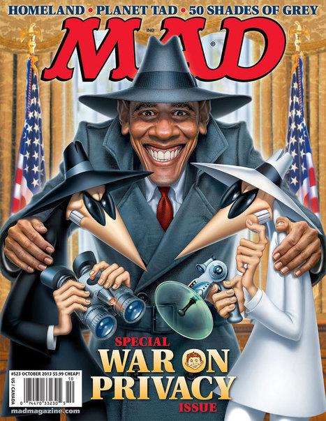 MAD Magazine Uses Iconic Characters to Hit Obama Over Gov't Surveillance | TheBlaze.com | Surveillance Studies | Scoop.it