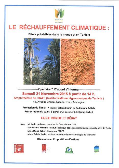 LE RÉCHAUFFEMENT CLIMATIQUE. Effets prévisibles dans le monde et en Tunisie. | Institut Pasteur de Tunis-معهد باستور تونس | Scoop.it
