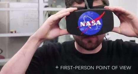 NASA controls robots with Kinect and Oculus Rift - GameSpot | Réalité virtuelle | Scoop.it