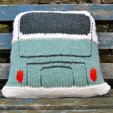 Campervan Cushion VW style! - Slightly Sheepish   TRALHA   Scoop.it