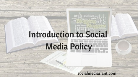 Introduction to social media policy (Slides) | Technology in Education | Scoop.it