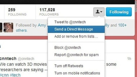 Twitter opening up private messages to anyone | TechLib | Scoop.it