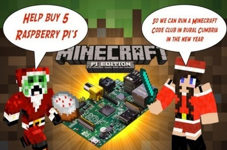 Click here to support Minecraft Code Club - 5 Raspberry Pi's  by Adam Clarke | Raspberry Pi | Scoop.it