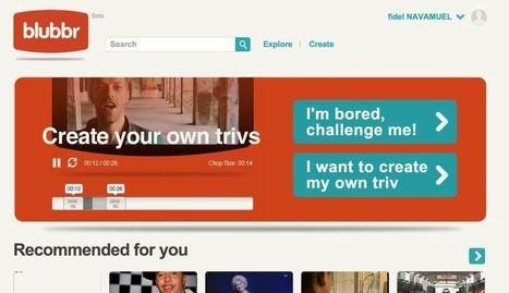 Blubbr. Proposer des quizz vidéo a vos élèves. | Les outils du Web 2.0 | Scoop.it