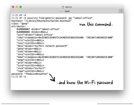 Comment trouver le code WiFi du réseau auquel vous êtes connecté ? | Usages du web, outils numériques | Scoop.it
