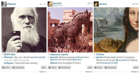What If There Was Instagram Throughout History? | Art Education | Scoop.it