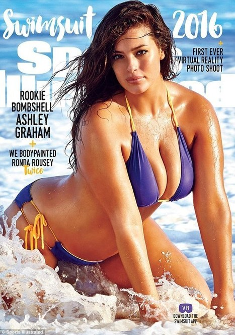 SI cover star Cheryl Tiegs claims size 14 Ashley Graham is 'unhealthy' | Vloasis sex corner | Scoop.it